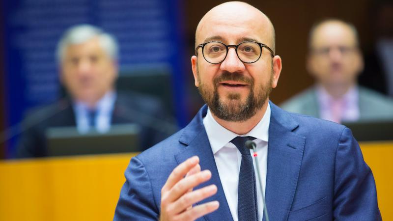 Przewodniczący Rady Europejskiej Charles Michel, źródło: EC - Audiovisual Service/European Union, 2018