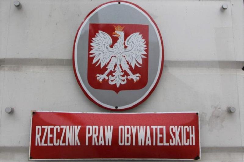 Rzecznik Praw Obywatelskich, tablica informacyjna, źródło rpo.gov