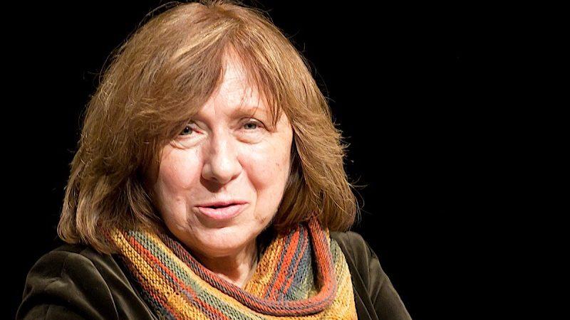 Swiatłana Aleksijewicz, źródło wikipedia Elke Wetzig