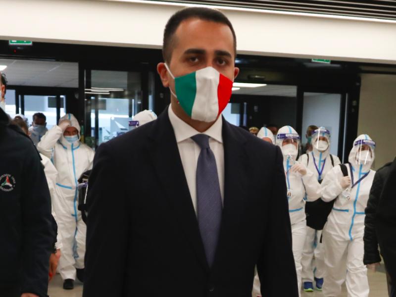 Minister spraw zagranicznych Włoch Luigi di Maio, fot. Dipartimento Protezione Civile (CC BY 2.0)