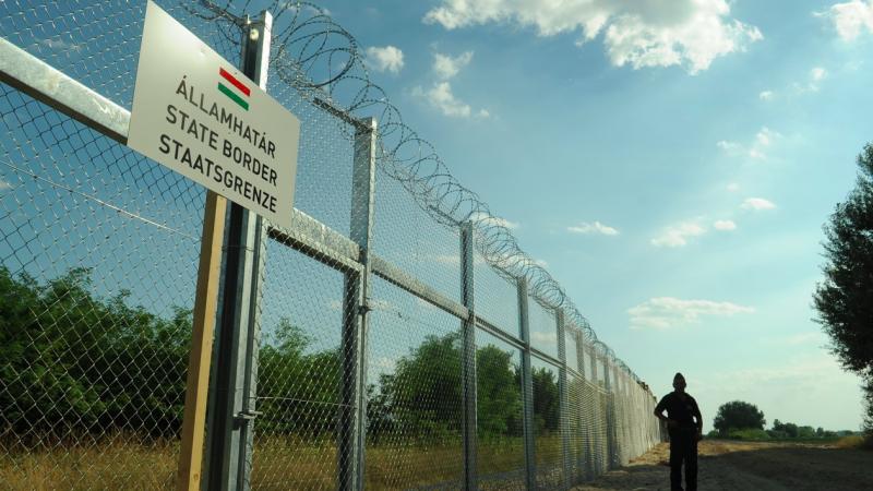 Ogrodzenie na granicy węgiersko-serbskiej, źródło: Wikipedia/Délmagyarország, fot. Andrea Schmidt (CC BY-SA 3.0)