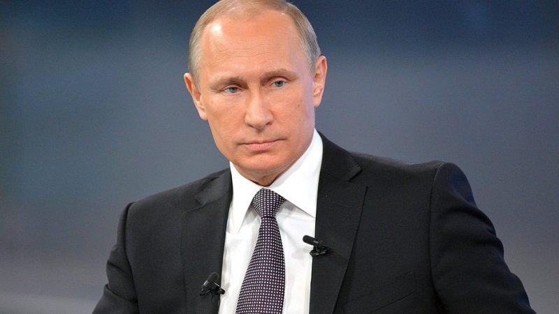 Prezydent Rosji Władimir Putin, fot. kremlin.ru [CC BY 4.0]