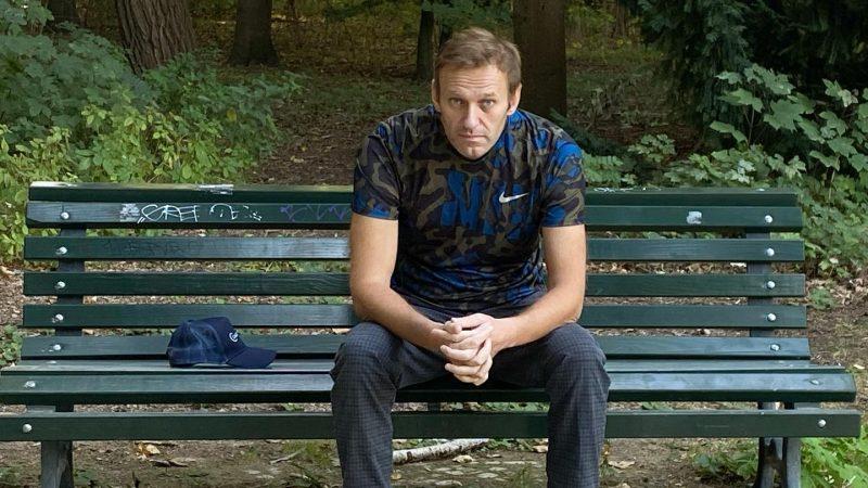 Aleksiej Nawalny po wypisaniu ze szpitala