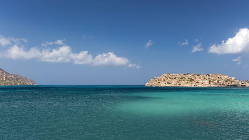 Morze Śródziemne w pobliżu Krety