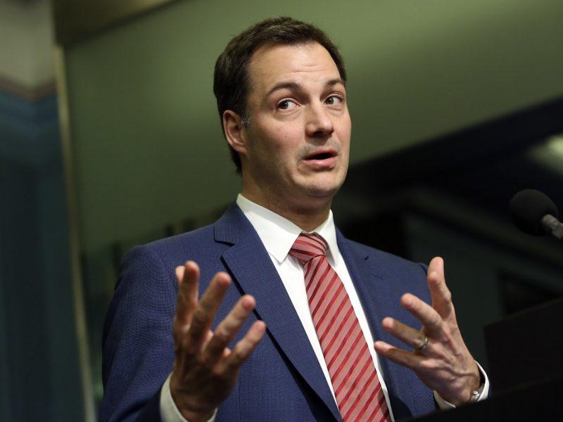 Belgia, premier, kryzys rządowy, Alexander De Croo, minister finansów
