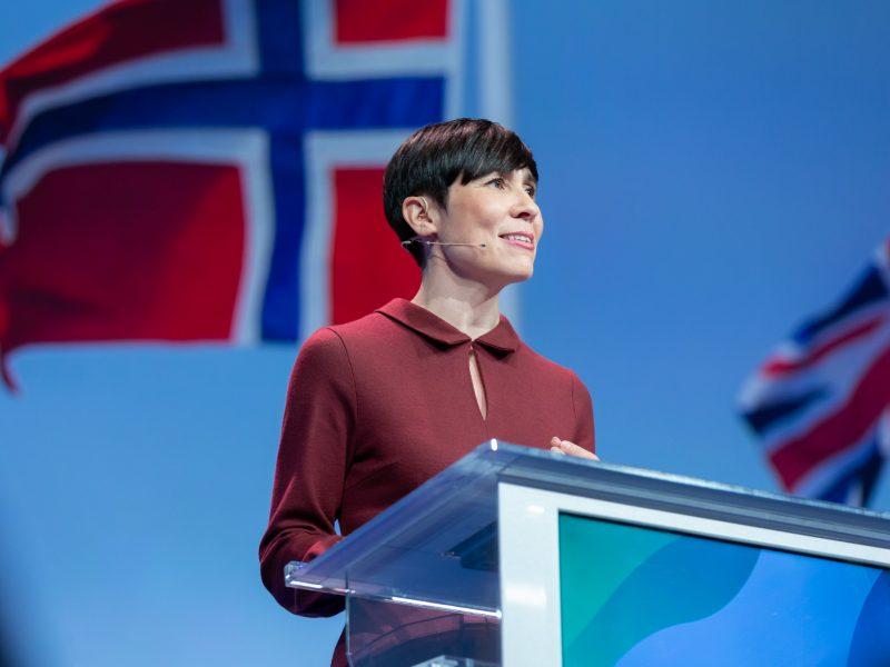 Szefowa MSZ Norwegii Ine Eriksen (na zdj.) zapowiedziała, że gminy, które przyjęły uchwały o strefach wolnych od LGBT, nie dostaną pieniędzy z funduszy norweskich. / Foto via flickr @Høyre, licencja (CC BY-NC 2.0)