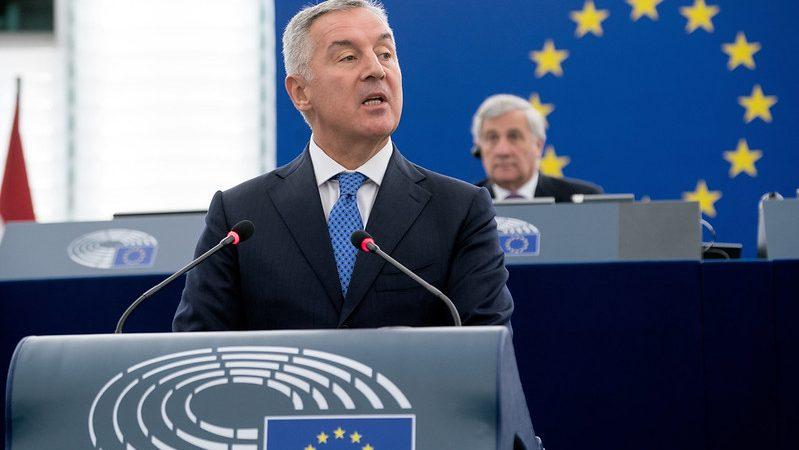 Prezydent Czarnogóry Milo Đukanović