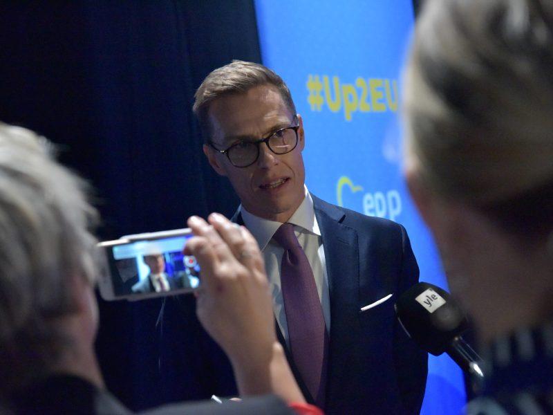 Alexander Stubb był premierem Finlandii w latach 2014-2015.