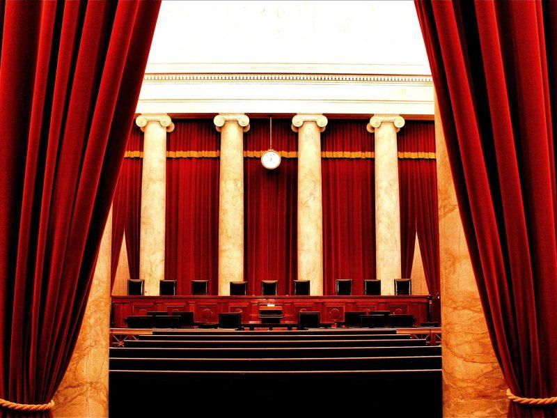 Sala posiedzeń Sądu Najwyższego USA, źródło: Flickr, fot. Phil Roeder (CC BY 2.0)