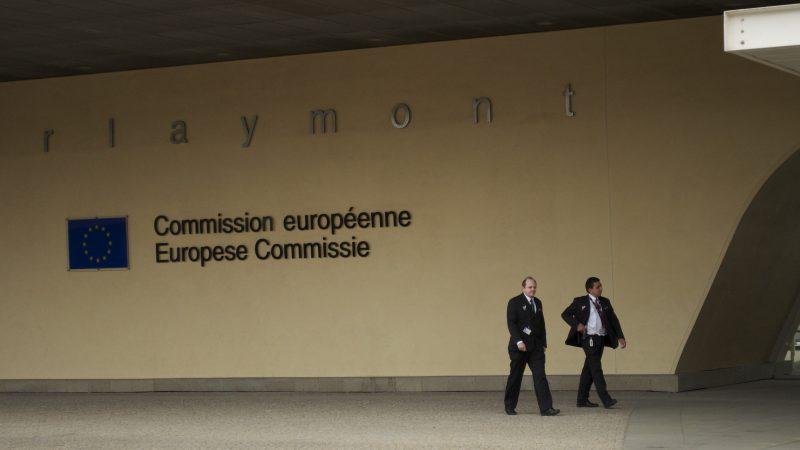Budynek Berlaymont w Brukseli, siedziba Komisji Europejskiej