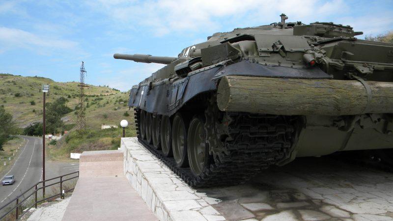 Czołg w Górskim Karabachu, fot.Timon91 [Flickr]