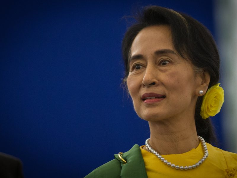 Aung San Suu Kyi została przez PE pozbawiona Nagrody im. Sacharowa, źródło: Wikipedia, fot. Claude Truong-Ngoc (CC BY-SA 3.0)