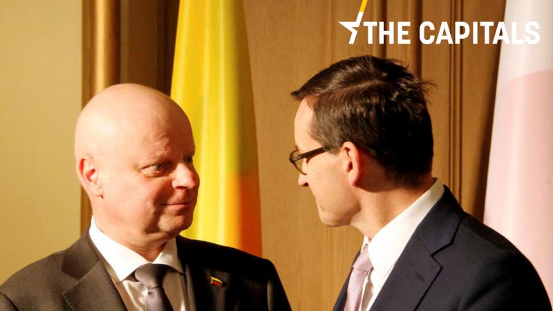 """Według premiera Litwy Sauliusa Skvernelisa reforma sądownictwa to """"wewnętrzna sprawa Polski"""". /The Capitals to codzienny biuletyn EURACTIV z całej Europy."""