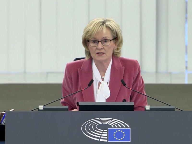 Nowa komisarz UE ds. usług finansowych Mairead McGuinness