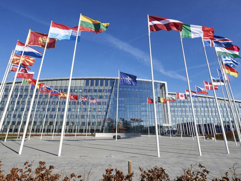 Kwatera główna NATO w Brukseli [Twitter, @NATOpress]