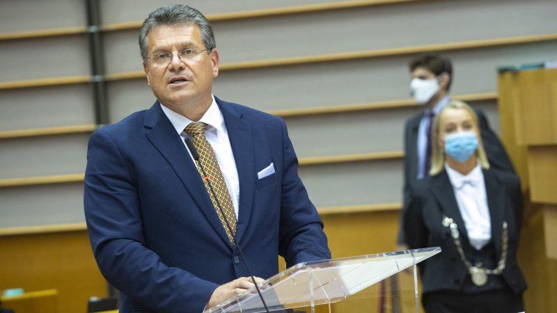 Wiceprzewodniczący KE Maroš Šefčovič, źródło: twitter @MarosSefcovic