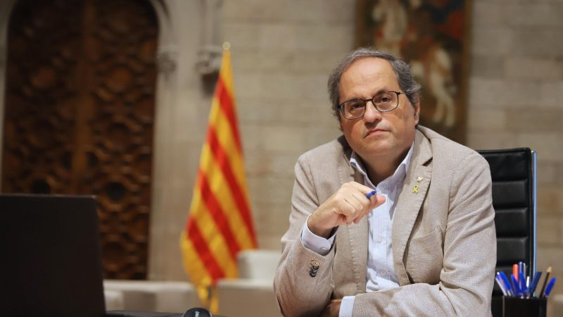 Katalonia, Hiszpania, niepodległość, Quim Torra, demokracja, separatyści, Lluis llach, Carles Puigdemont, Barcelona