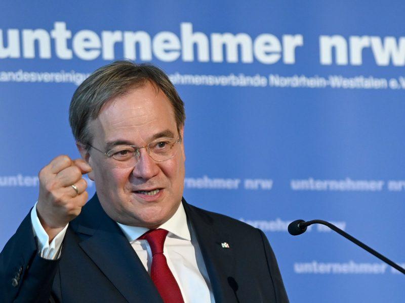 Wybory w Nadrenii Północnej-Westfalii traktuje się jako sprawdzian poparcia dla premiera tego kraju związkowego Armina Lascheta.