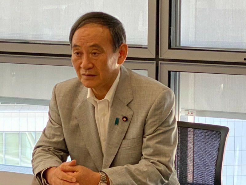 Nowy premier Japonii Yoshihide Suga
