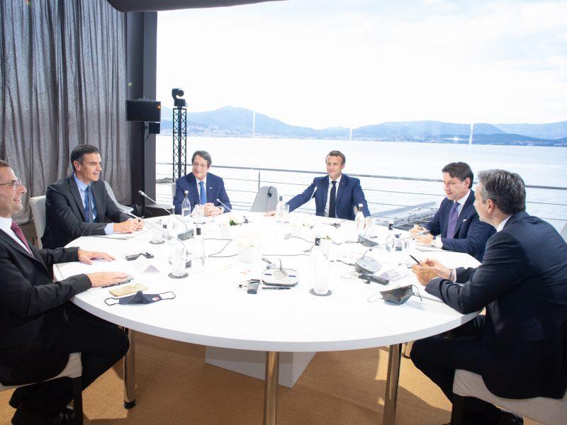 Spotkanie grupy Med 7 na Korsyce, 10 września 2020 r.