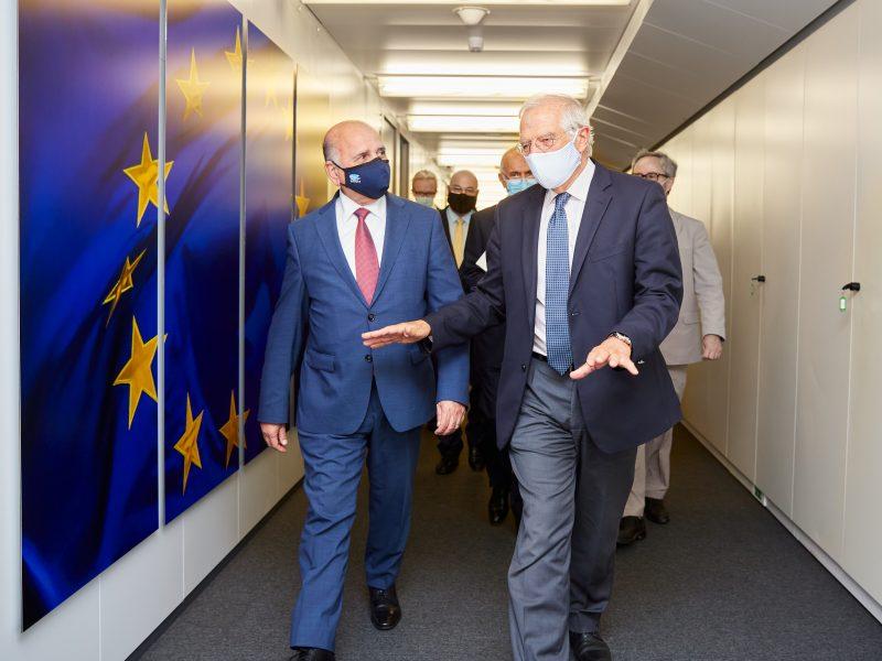 Cypr, Białoruś, sankcje, Borrell, Rosja, Cichanouska
