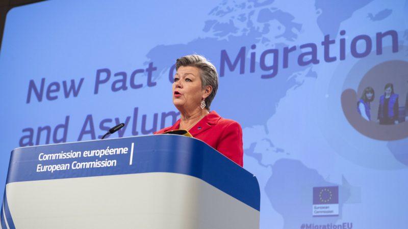pakt migracyjny, pakiet migracyjny, migracje, Unia Europejska, Komisja Europejska, von der Leyen, Ylva Johannson, Polska, Grupa Wyszehradzka, Morawiecki, Węgry, Włochy, Grecja, Lesbos, Moria