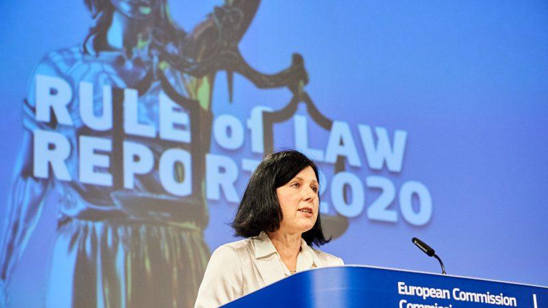 Czechy, Věra Jourová, Komisja Europejska, Unia Europejska, praworządność, rule of law