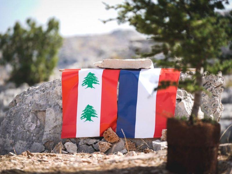 Emmanuel Macron drugi raz w ciągu niespełna miesiąca odwiedził Liban, źródło: Twitter/Emmanuel Macron (@EmmanuelMacron)