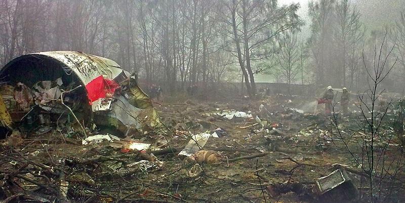 Miejsce katastrofy w Smoleńsku, źródło Wikimedia, praca własna, CC BY-SA 2.5