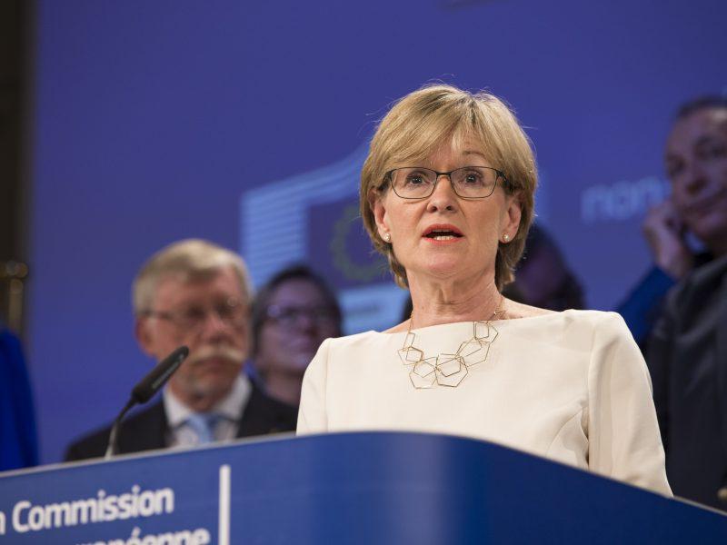 Kandydatka Irlandii do KE, a dotąd wiceprzewodnicząca PE Mairead McGuinness, źródło: EC - Audiovisual Service/European Union 2017, fot. Łukasz Kobus