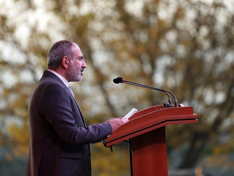 Premier Armenii Nikol Paszynian, fot. @Twitter Nikoli Paszyniana