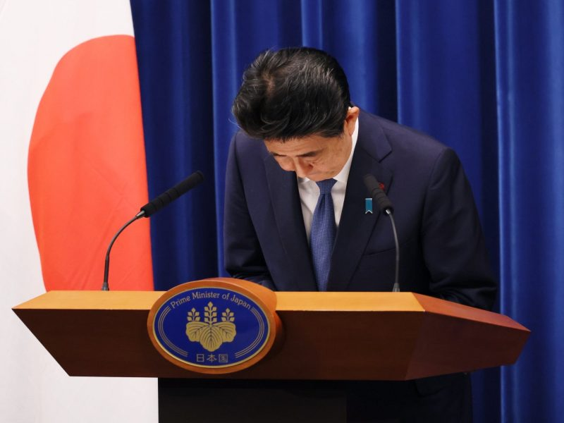 Premier Japonii Shinzo Abe, fot. Prime Minister's Office of Japan [Twitter]