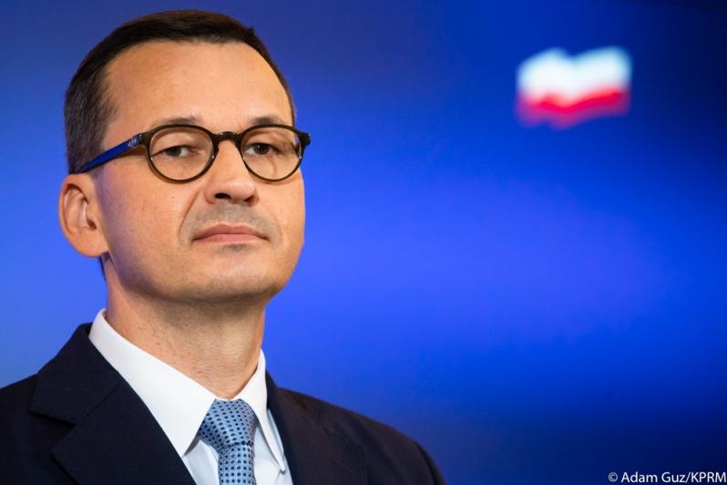 Premier Mateusz Morawiecki, źródło Adam Guz KPRM