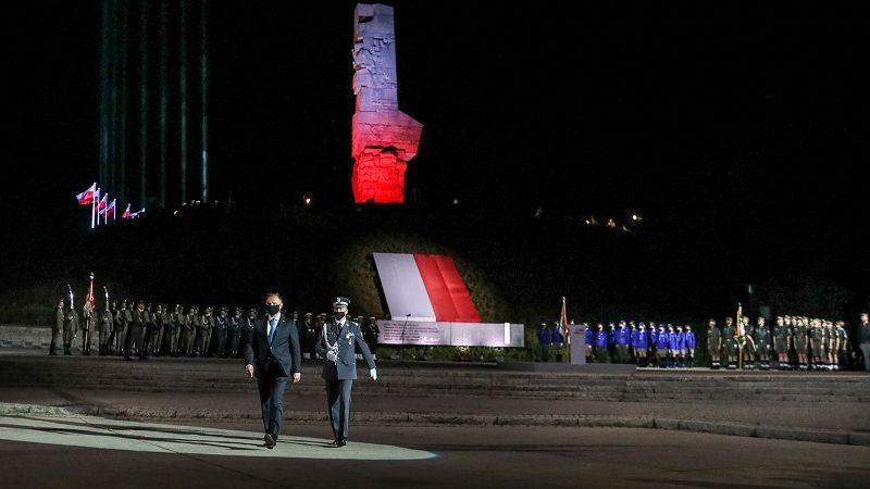 Prezydent Andrzej Duda na Westerplatte, 81 rocznica wybuchu II wjny swiatowej, źródło Jakub Szymczuk KPRP