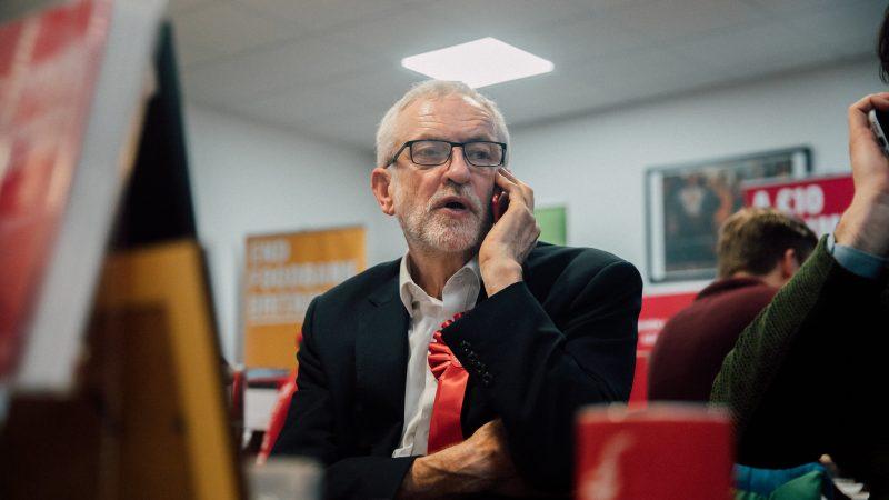 Były przewodniczący brytyjskiej Partii Pracy Jeremy Corbyn