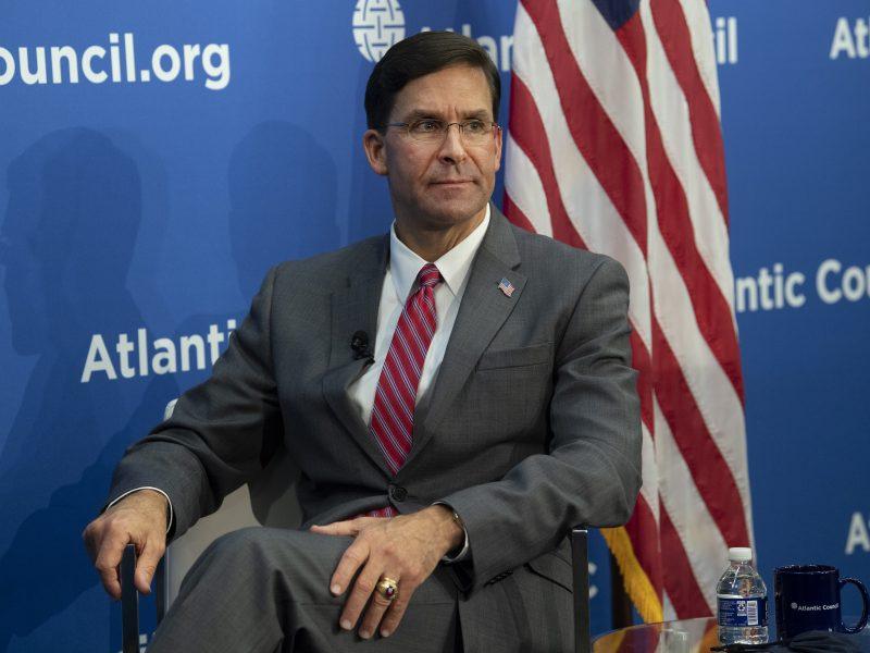 Sekretarz obrony USA Mark Esper