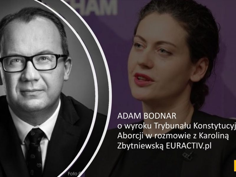 Adam Bodnar wywiad wyrok TK aborcja