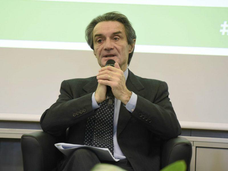 Prezydent Lombardii Attilio Fontana