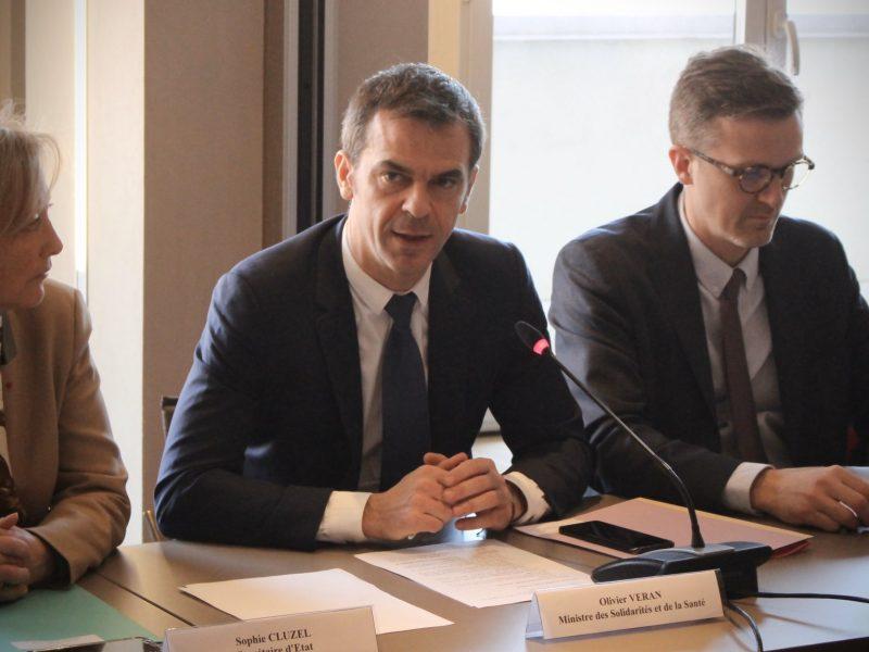 Francuski minister zdrowia Olivier Véran