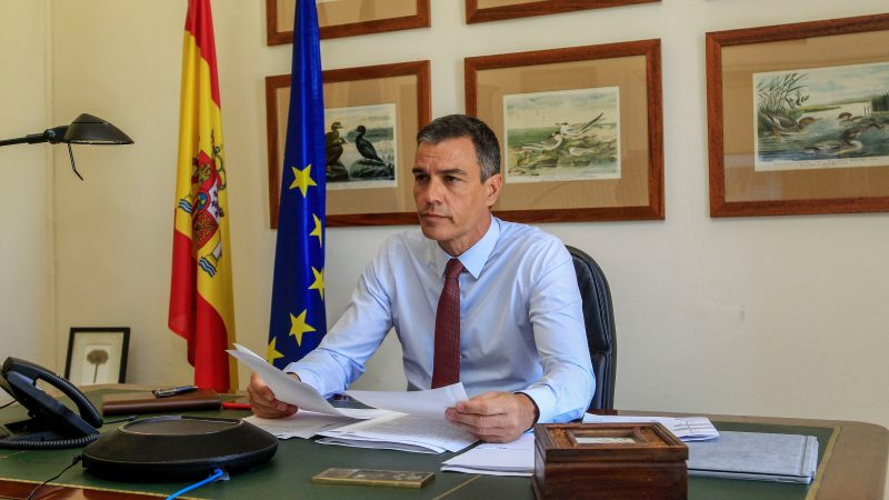 Premier Hiszpanii Pedro Sanchéz