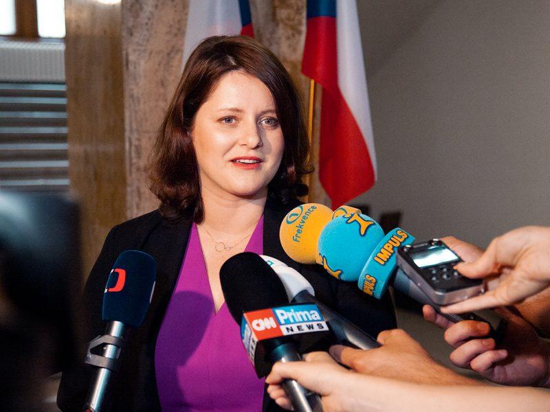 Minister pracy i spraw społecznych Jana Maláčová