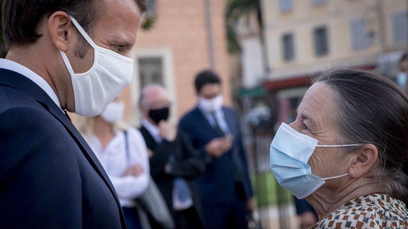 Francja, koronawirus, pandemia, epidemia, Emmanuel Macron, godzina policyjna