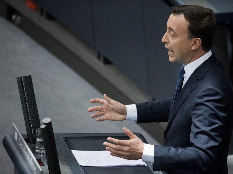 Sekretarz generalny CDU Paul Ziemiak