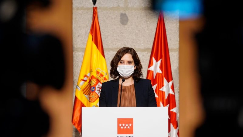 Hiszpania, Madryt, koronawirus, pandemia