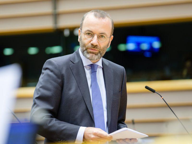 Przewodniczący frakcji EPL w Parlamencie Europejskim Manfred Weber