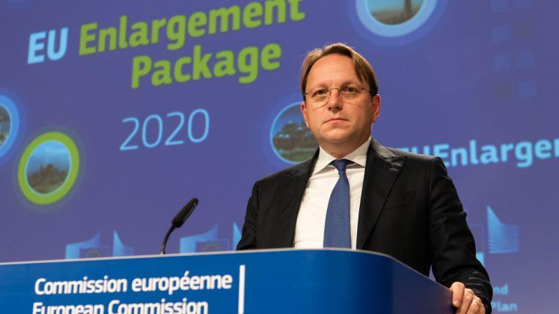 Komisja Europejska, Unia Europejska, Bałkany Zachodnie, Várhelyi, Borrell,