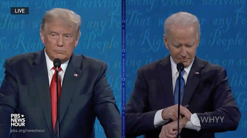 Debata, USA, Donald Trump, Joe Biden, wybory