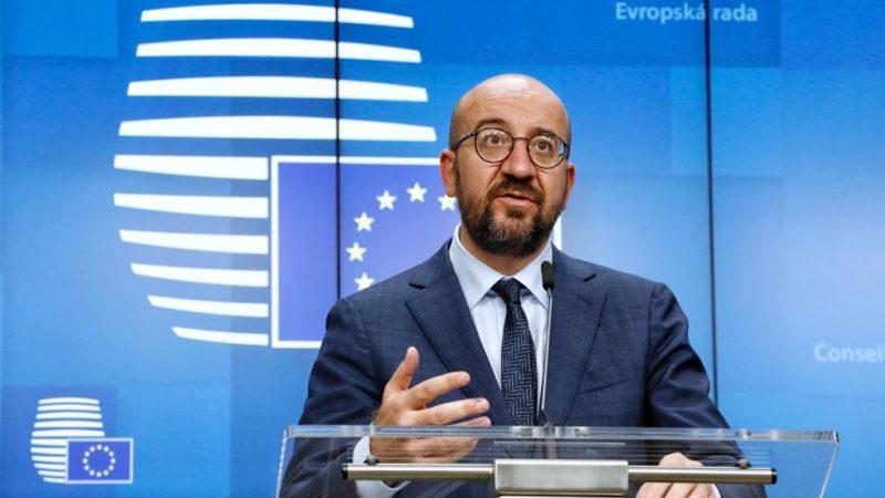 Unia, Europejska, koronawirus, pandemia, COVID-19, Charles Michel