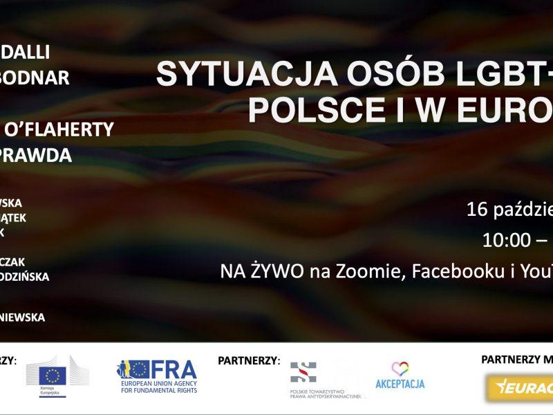 Sytuacja osób LGBT+ w Polsce i w Europie