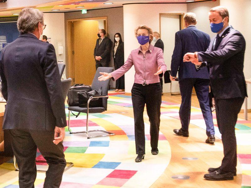 Szczyt UE w Brukseli, źródło: EC - Audiovisual Service/European Union 2020